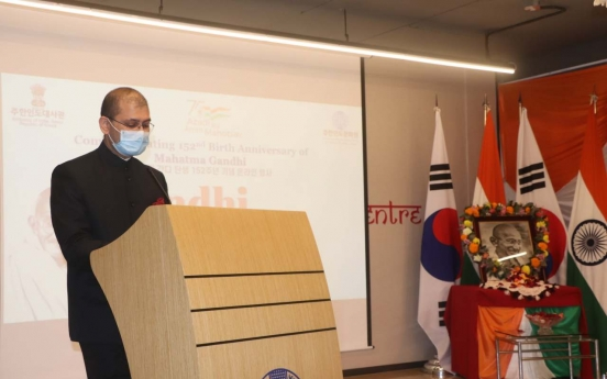 Indian embassy celebrates Gandhi anniversary