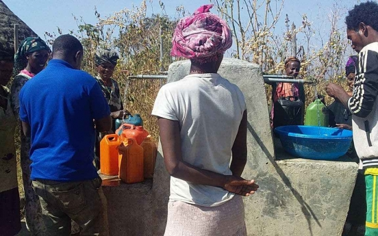 KOICA's clean water project in Ethiopia gains international attention