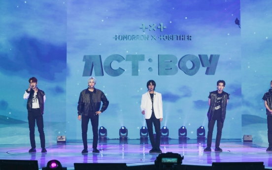 [Herald Review] TXT's magical first concert, 'Act: Boy'