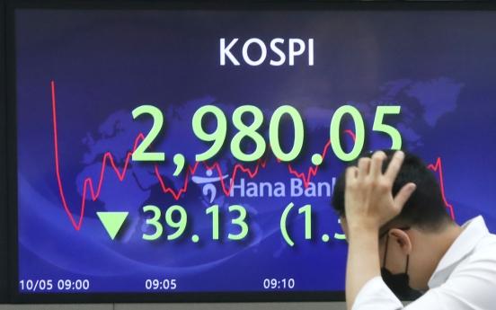Seoul stocks open lower on US stock losses