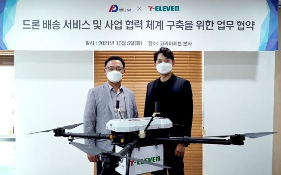 Seven Eleven prepares drone delivery service