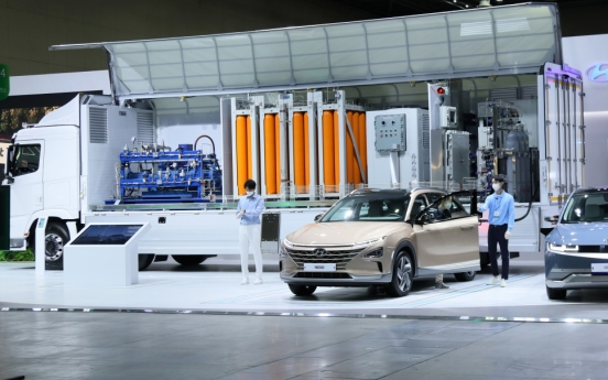 [Photo News] 2021 Green New Deal Expo: The future of hydrogen