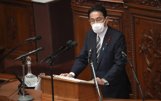 Japan's Kishida urges Seoul to act on soured relations