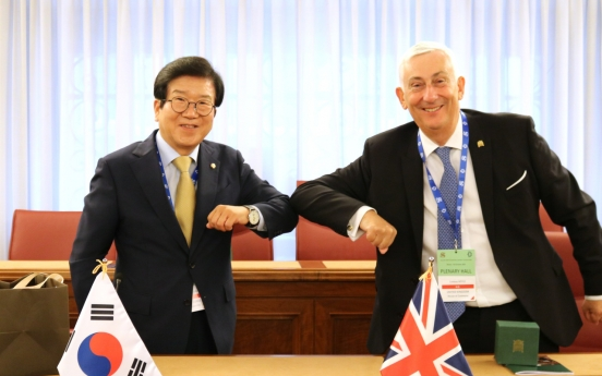 Assembly speaker appeals to British counterparts to support end-of-war declaration