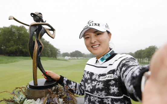 Ko Jin-young captures 3rd LPGA title of 2021 in record-tying fashion