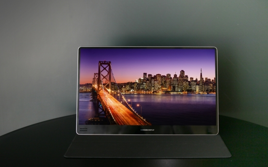 More IT devices opt for Korean OLED displays