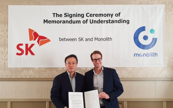 SK Inc. to launch 'turquoise hydrogen' joint venture with Monolith