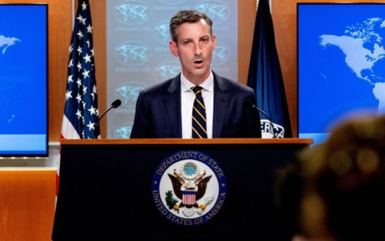 S. Korea, US, Japan cooperation important to denuclearizing peninsula: State Dept.