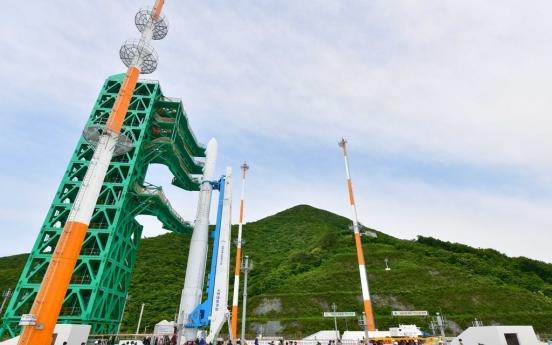 Countdown on for S. Korea's self-developed satellite launcher Nuri