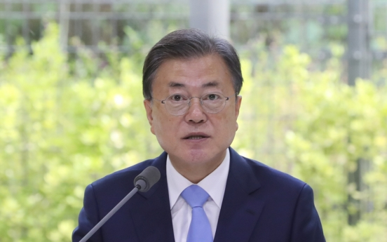 S. Korea to raise goal of cutting emissions to 40% by 2030: Moon