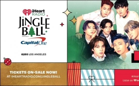 BTS to join LA stop of this year's iHeartRadio Jingle Ball Tour