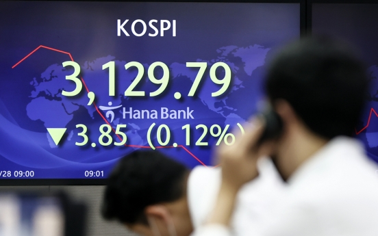 Seoul stocks rebound on easing virus woes, stabilizing currency market