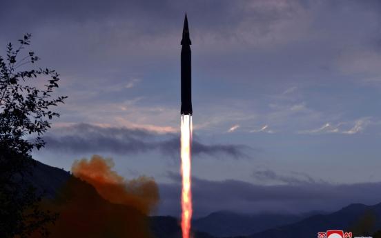 N. Korea tests missile amid South's efforts to resume talks