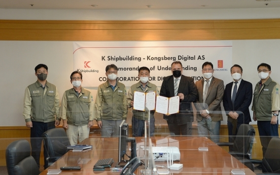 K Shipbuilding to join forces with Norwegian firm for smart ships