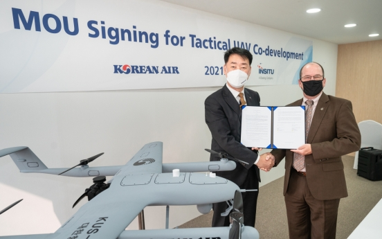 Korean Air partners with Boeing subsidiary for UAV