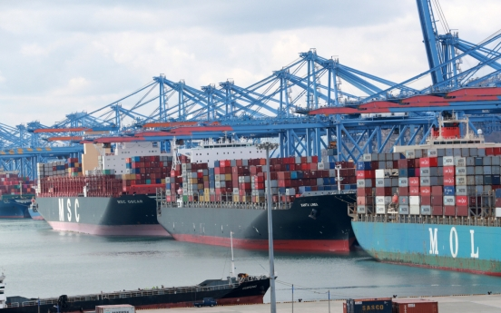 S. Korea's seaport cargo up 8.1% in Q3 amid global rebound