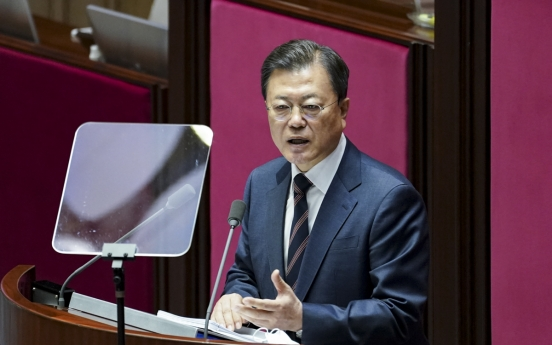Moon pledges last-ditch effort to bring normalcy back