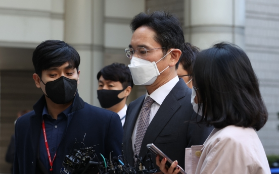 Samsung heir Lee sentenced to W70m fine for illegal use of propofol
