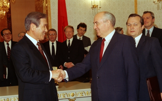Late President Roh credited for post-Cold War diplomacy, dialogue with N. Korea