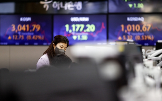 Seoul stocks open lower on profit-taking