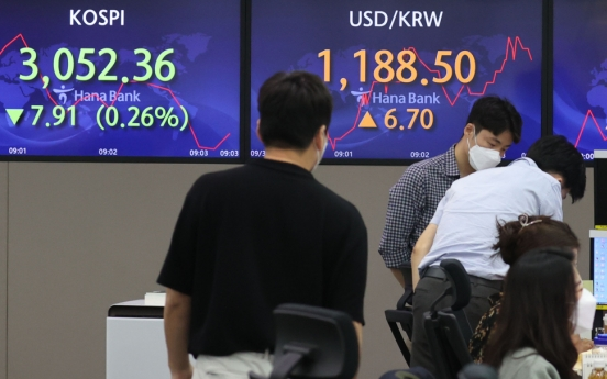 Seoul stocks slump as investors take profit amid earnings peak-out worries