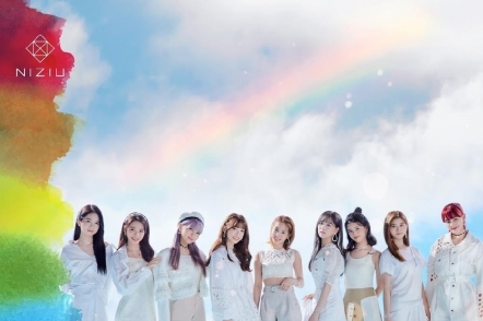Rookie girl group NiziU tops Japan music chart with debut album