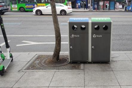 Conquest for trash bin far from easy in Seoul