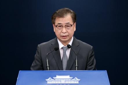 Top security advisors of Seoul, Washington share views on COVID-19, North Korea