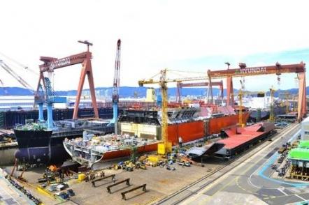 EU still not resuming review of Hyundai Heavy-Daewoo Shipbuilding merger