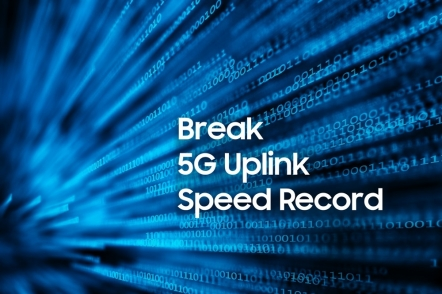Samsung Electronics breaks record for 5G upload speed