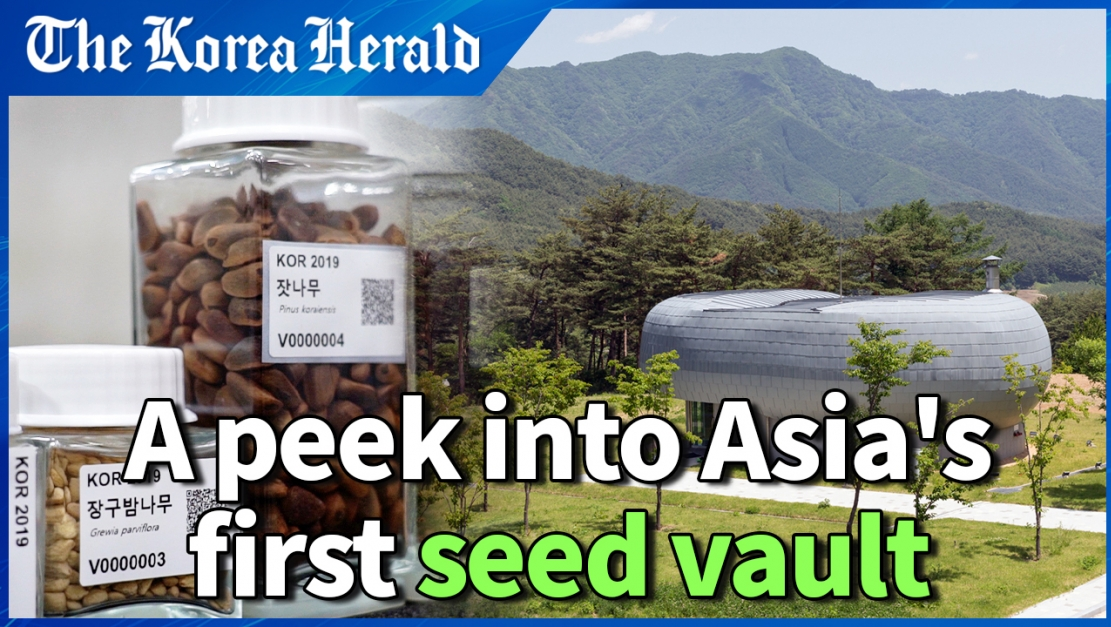 Inside Asia's first underground seed vault