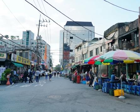 Tender, sweet spareribs at Seongsu-dong