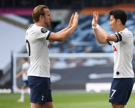 Son Heung-min finishes Premier League season with career high in offensive points