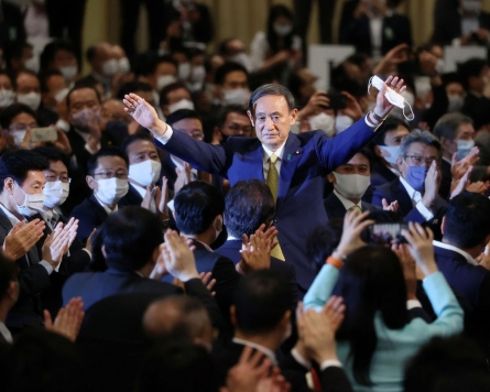 [News Analysis] No drastic change in Seoul-Tokyo ties expected under new PM Suga