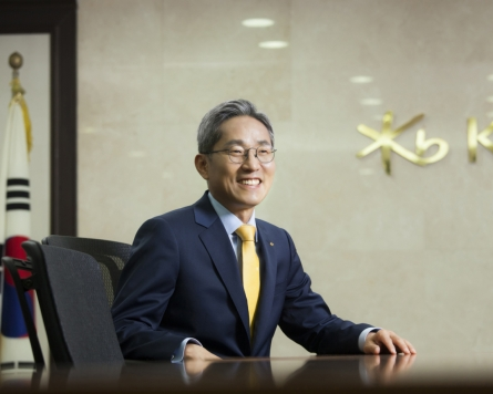 KB Financial chief Yoon Jong-kyoo likely to serve 3rd term
