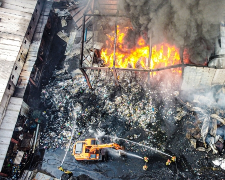 [Newsmaker] 2 killed in fire at waste recycling facility