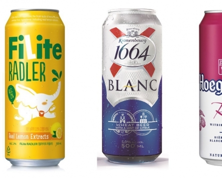 Fruity beers enjoy surge in popularity as light drinking catches on