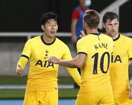 Tottenham's Son Heung-min stays hot in Europa League qualifier