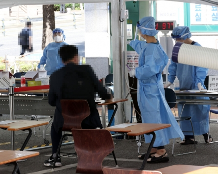 New virus cases over 100 for 3rd day, virus fight put to test