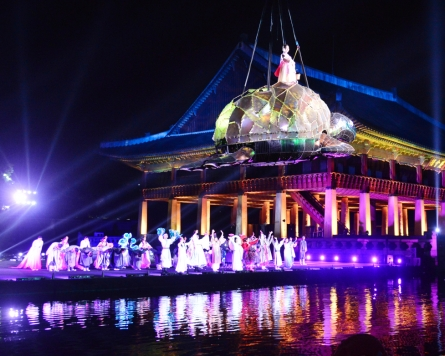 Royal Culture Festival impresses with wire-flying show