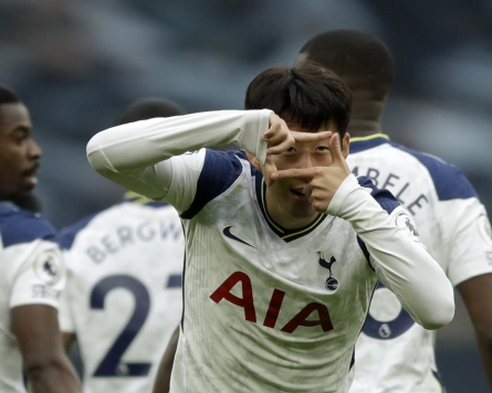 Another goal keeps Son Heung-min tied for Premier League scoring lead