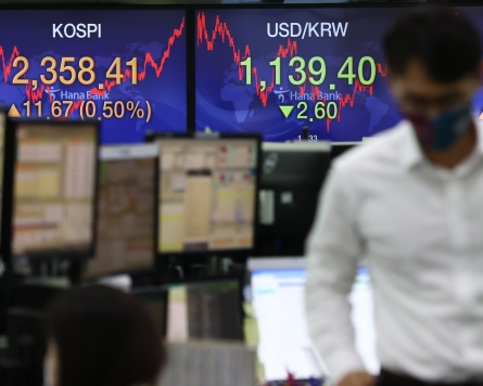 Seoul shares up for 2nd day on US stimulus hopes; Korean won at 18-month high