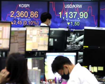Seoul stocks increase for 3rd session on US stimulus optimism