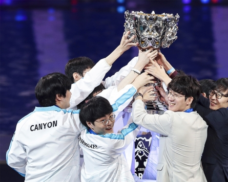Damwon defeats Suning to win LoL Worlds