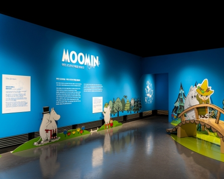 The Moomins from Finland visit Seoul to provide comfort amid pandemic