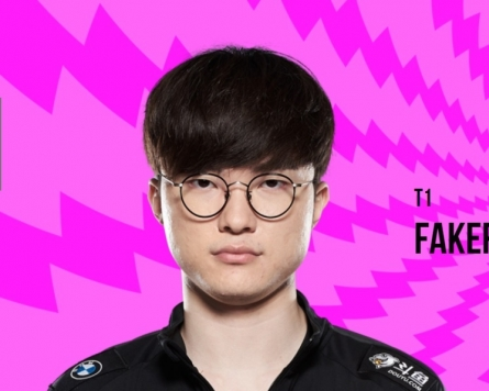 Faker among 5 LCK players chosen for 2020 LoL All-Star