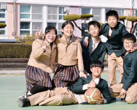 Hanbok-inspired school uniforms worn at two schools