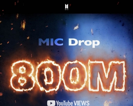 'MIC Drop' becomes 4th BTS music video to hit 800m views
