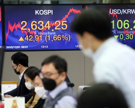 Seoul stocks soar to new record high on economic recovery hopes