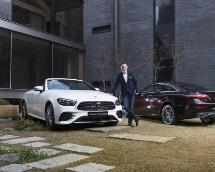 Mercedes-Benz Korea launches new E-Class Coupe, Cabriolet